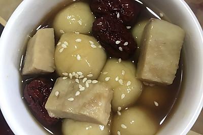 漳浦特色小吃:甜汤圆