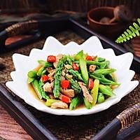 #精品菜谱挑战赛#芦笋炒肉的做法图解14