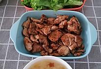 减肥也可以吃烤肉——生菜包肉的做法