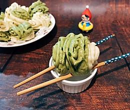 #冰箱剩余食材大改造#【卷】双色白菜花卷的做法