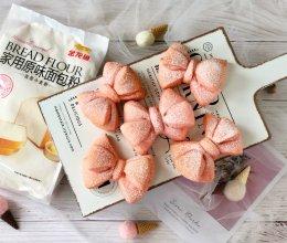 可爱的蝴蝶结面包的做法