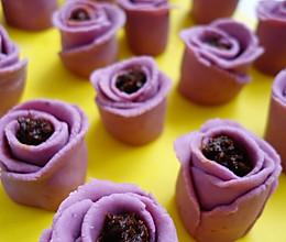 玫瑰糖包的做法