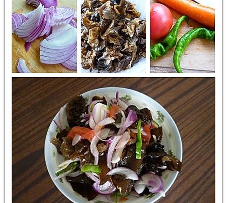 凉拌菜——皮辣红的做法
