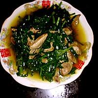 韭菜猪肝的做法图解3