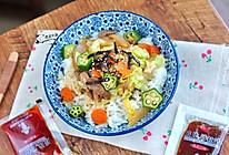 日式沙拉汁盖饭#丘比沙拉汁#的做法