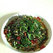 韭菜抄螺丝肉