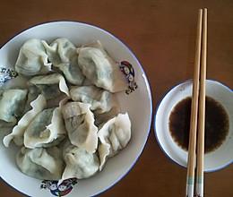 韭菜素水饺的做法