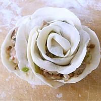 玫瑰蒸饺#我买新鲜味#的做法图解5