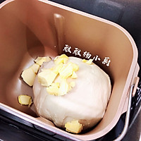 椰香软排包的做法图解2