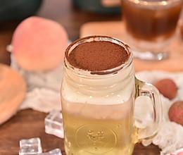 白桃乌龙奶盖茶的做法