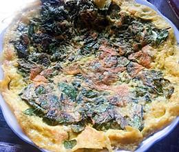 花椒叶煎蛋的做法