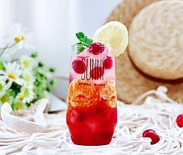 #轻饮蔓生活#蔓越莓橘子蜂蜜冰饮的做法