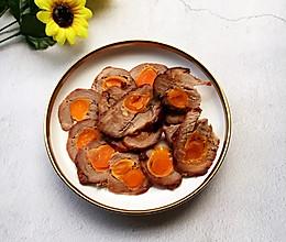 咸蛋叉烧肉的做法