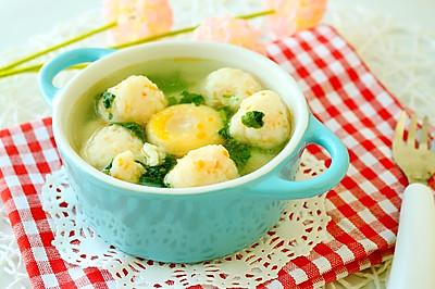 手工鱼丸蔬菜汤