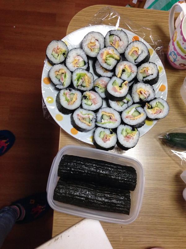 日本正宗的寿司哟~的做法
