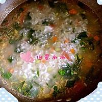 营养早餐粥-宝宝蔬菜米粥的做法图解10