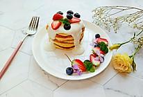 酸奶舒芙蕾松饼#做道懒人菜,轻松享假期#的做法