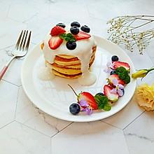 酸奶舒芙蕾松饼#做道懒人菜,轻松享假期#