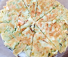 私房海鲜饼的做法