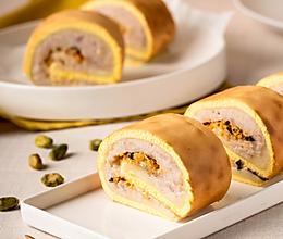 肉松麻薯虎皮卷 一口三重感受 糯叽叽超好吃!的做法