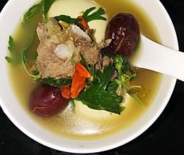 #餐桌上的春日限定#益母草汤的做法
