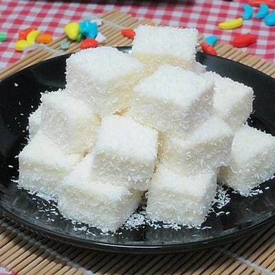 【鲜奶雪花凉糕】