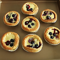蓝莓蛋挞的做法图解13