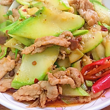 西湖瓜炒肉