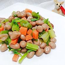 #元宵节美食大赏#芹菜拌花生米