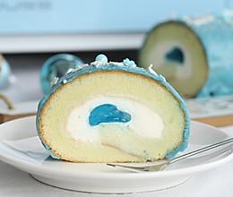 梦龙海洋之心蛋糕卷的做法