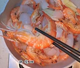 白灼大虾的做法