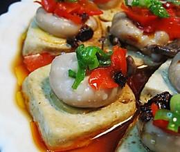 剁椒臭豆腐蒸目鱼蛋的做法