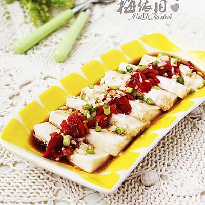 微波剁椒豆腐
