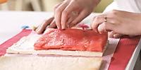 玫瑰草莓西瓜蛋糕,高颜值的美味!的做法图解8