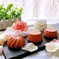 红曲芝士小蛋糕 #舌尖上的春宴#的做法图解11