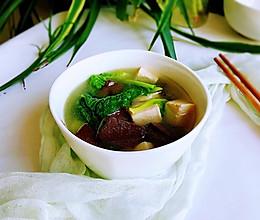 #秋天怎么吃#鸭血豆腐汤的做法