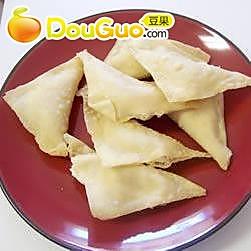 蟹肉煎饺的做法