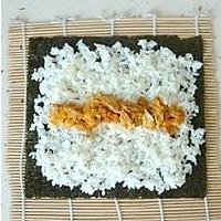 咸蛋黄寿司的做法图解4