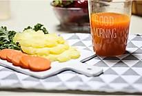 胡萝卜凤梨汁的做法