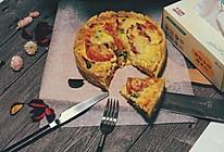 蕃茄培根乳蛋饼#不思烤,就很好#的做法