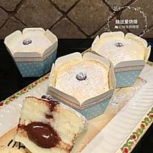 北海道巧克力流心蛋糕
