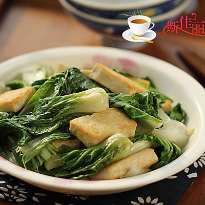 豆腐炒白菜