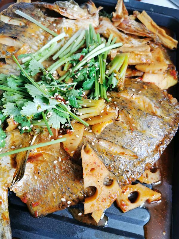 在家吃大餐之香辣烤鱼的做法