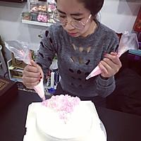 情人节【专属】女王礼服蛋糕裱花的做法图解9