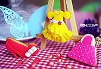少女心系列翻糖饼干的做法