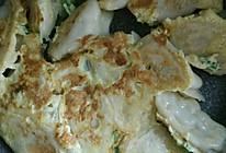鸡蛋煎饺子的做法