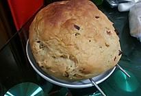 核桃蔓越莓全麦面包 面包机揉面烤箱烤制的做法
