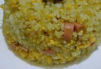 咖喱蛋炒饭的做法