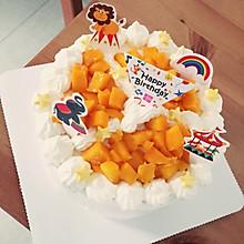 6寸水果奶油蛋糕