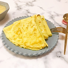 家常葱花鸡蛋饼-养胃早餐